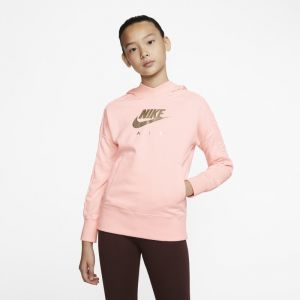 Nike Sweat à capuche Air pour Fille plus âgée - Rose - XL - Female