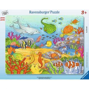 Ravensburger Puzzle Cadres - Joyeuses Créatures Marines