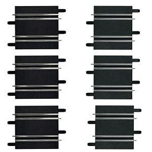 Carrera Toys 61658 - Droites 100 mm / 114mm pour circuit Go!!! et Digital 143