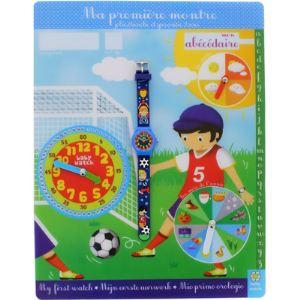 Baby Watch 60553 - Ma première montre Soccer et son Abécédaire pour enfant