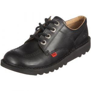 Kickers Chaussures Enfant Kick Lo -Noir - UK 5 Youth/EU 38 - Noir