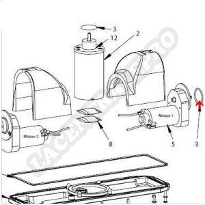 Procopi 1019036 - Joint de flasque moteur pompe/traction Lazernaut