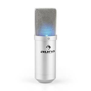 Auna MIC-900 LED USB - Microphone de studio à condensateur cardioïde