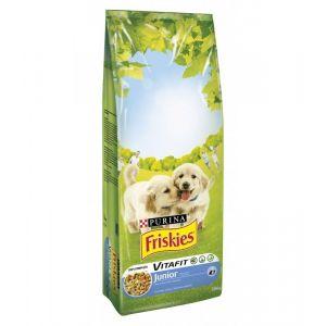 Friskies Junior Poulet et Légumes Pour Chiots 18 Kg