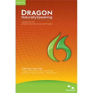 Dragon NaturallySpeaking Home v12 [Windows]