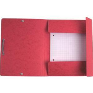 Exacompta Chemise à élastique à 3 rabats forma scolaire 55 g (19 x 24)