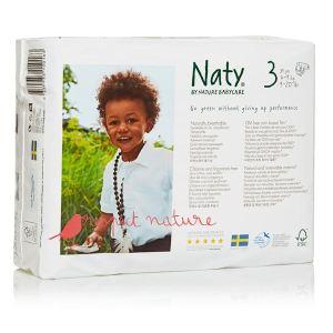 Nature Babycare Couche Naty taille 3 (4-9 kg) - paquet de 31