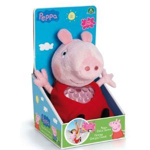 Giochi Preziosi Peluche Peppa Pig : Peppa berceuse et lumineuse
