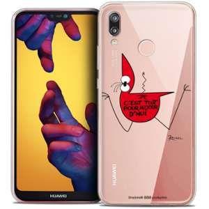 CaseInk Coque Gel Huawei P20 LITE (5.84 ) Extra Fine Les Shadoks® - C'est Tout