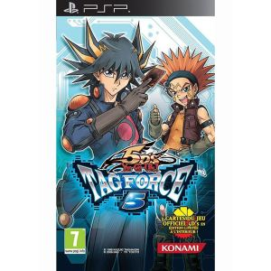 Yu-Gi-Oh! 5D's Tag Force 5 sur PSP