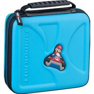 Bigben Console Nintendo 2 DS et 3 DS - Housse de transport - Mario Kart - Bleue