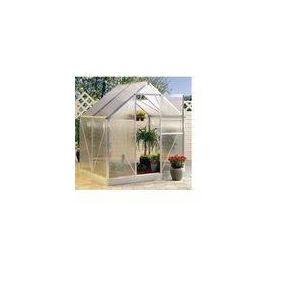 Serre de jardin en aluminium 3 m2 avec support