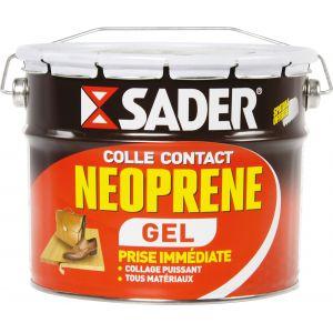 Sader Colle contact néoprène GEL (seau de 2,5 l) - Format : Seau de 2,5 L