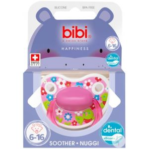 Bibi Happiness dental Birdy sucette 6-16