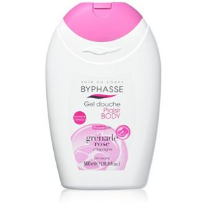 Byphasse Plaisir body - Gel douche grenade rose d'Espagne