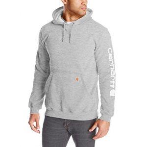 Carhartt Sweat à capuche gris clair - poche frontale - taille XL - Sleeve K288