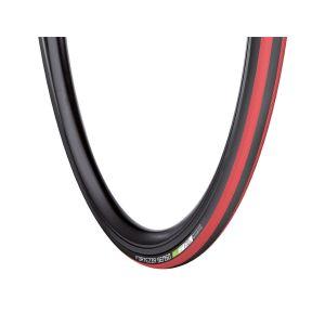 Vredestein Fortezza Senso Tyr - 25-622 - 28x1 1/16 - Pneu pliant - Noir / Rouge