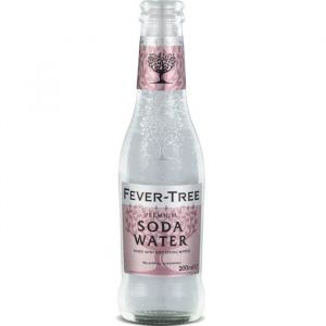 Fever Tree soda water (eau gazeuse pour cocktail) - Bouteille 20cl
