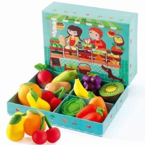 Djeco 06621 - Fruits et légumes : Louis et Clémentine