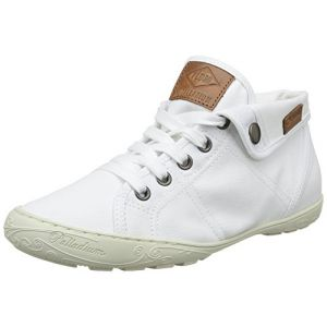 Palladium PLDM by Gaetane Twl, Sneakers Hautes femme, Blanc (420 White), 36 EU