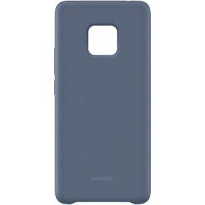 Huawei Coque Mate 20 Pro silicone bleu