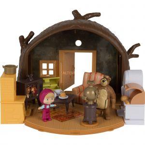 Smoby Playset Masha et Michka - La hutte de Michka