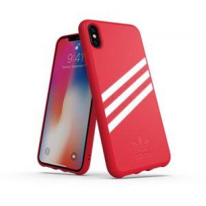 Adidas Coque Originals iPhone Xs Max Rouge / Blanc - SUEDE FW1