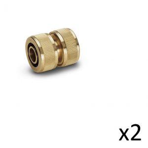 Kärcher Kit de 2 Raccords réparateur laiton 15-19mm - 2.645-103.0