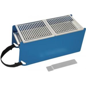Cookut Barbecue charbon sans fumée Nomade YAKI Bleu