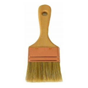 Arcane industries Pinceau finition resine epoxy peinture piscine - SPALTER PINCEAU APPLICATION PEINTURE PISCINE, EPOXY, MINERALIS, ARGILIS. | Bois - 100 mm