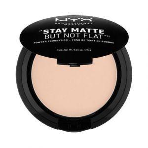 NYX Cosmetics Stay Matte But Not Flat - Fond de teint en poudre