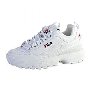 FILA DISRUPTOR LOW WMN - BLANC - femme - CHAUSSURES BASSES