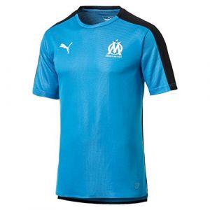 Puma Maillot d'entraînement Stade Olympique de Marseille - Bleu clair