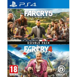 Jeu PS4 Far Cry 4 + Far Cry 5 [PS4]
