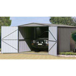 Treco Zincalume TRZ1019UTSD - Garage en métal 18,05 m2