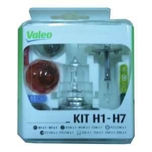 Valeo Coffret secours 6 ampoules H7 12 Volts 032304 -