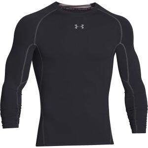 Under Armour Under Armour Armour Hg T-Shirt manches longues de compression Homme Noir/Acier FR : XL (Taille Fabricant : XL)