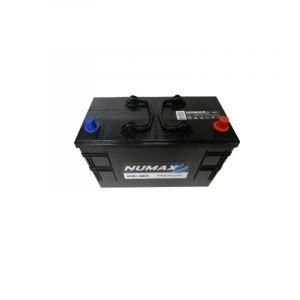 Numax Batterie de démarrage Poids Lourds et Agricoles Premium TRUCKS C13D / LOT 7 663 12V 110Ah / 800A