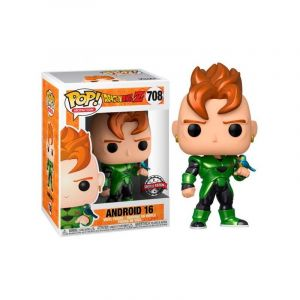 Image de Funko Pop! 39946 Dragon Ball Z S7 Android 16 Metallic Exclusive Limited Edition #708
