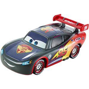 Mattel Voiture Disney Cars : Carbon Racers Flash Mc Queen