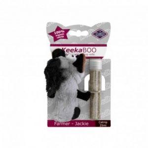 Ebi Jouet Keekaboo Farmer-Jackie 10cm - 25ml Catnip - Pour chat