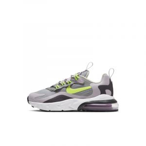 Nike Air Max 270 React Blanc/rose 34 Unisex