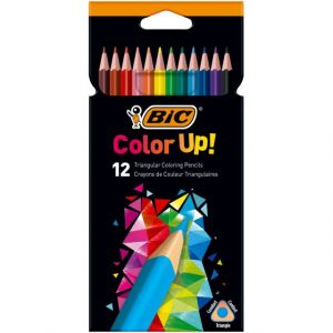 Bic Pochette de 12 crayons de couleur Color Up