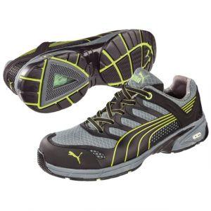 Puma Safety 642520 Chaussures de sécurité Taille noir, gris, jaune