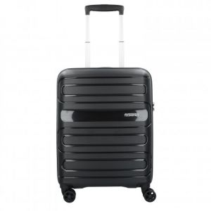 American Tourister Sunside Spinner 55/20 Bagage cabine, 55 cm, 35 liters, Noir (Black)