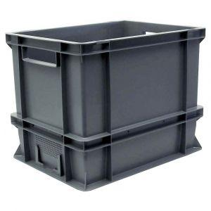 Viso Bac de manutention polypropylène 300 x 400 x 320 mm capacité 27 litres