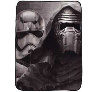 Character World Plaid polaire Kylo Ren & Stormtrooper Star Wars (120 x 150 cm)