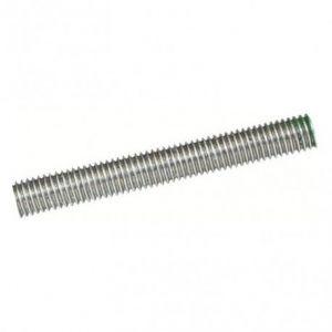 Tige filetée M6x50 à M12x1000 inox 316 - Ø, Longueur, sens filetage - M12 pas à droite x170mm
