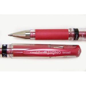 Uni Ball Stylo roller encre gel Signo écriture 0,7 Rouge métal