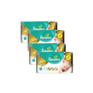 Pampers Couches - Taille 1 new baby premium care - 154 couches bébé